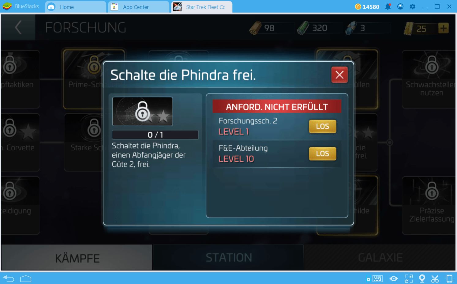 Star Trek Fleet Command Schiff- Guide