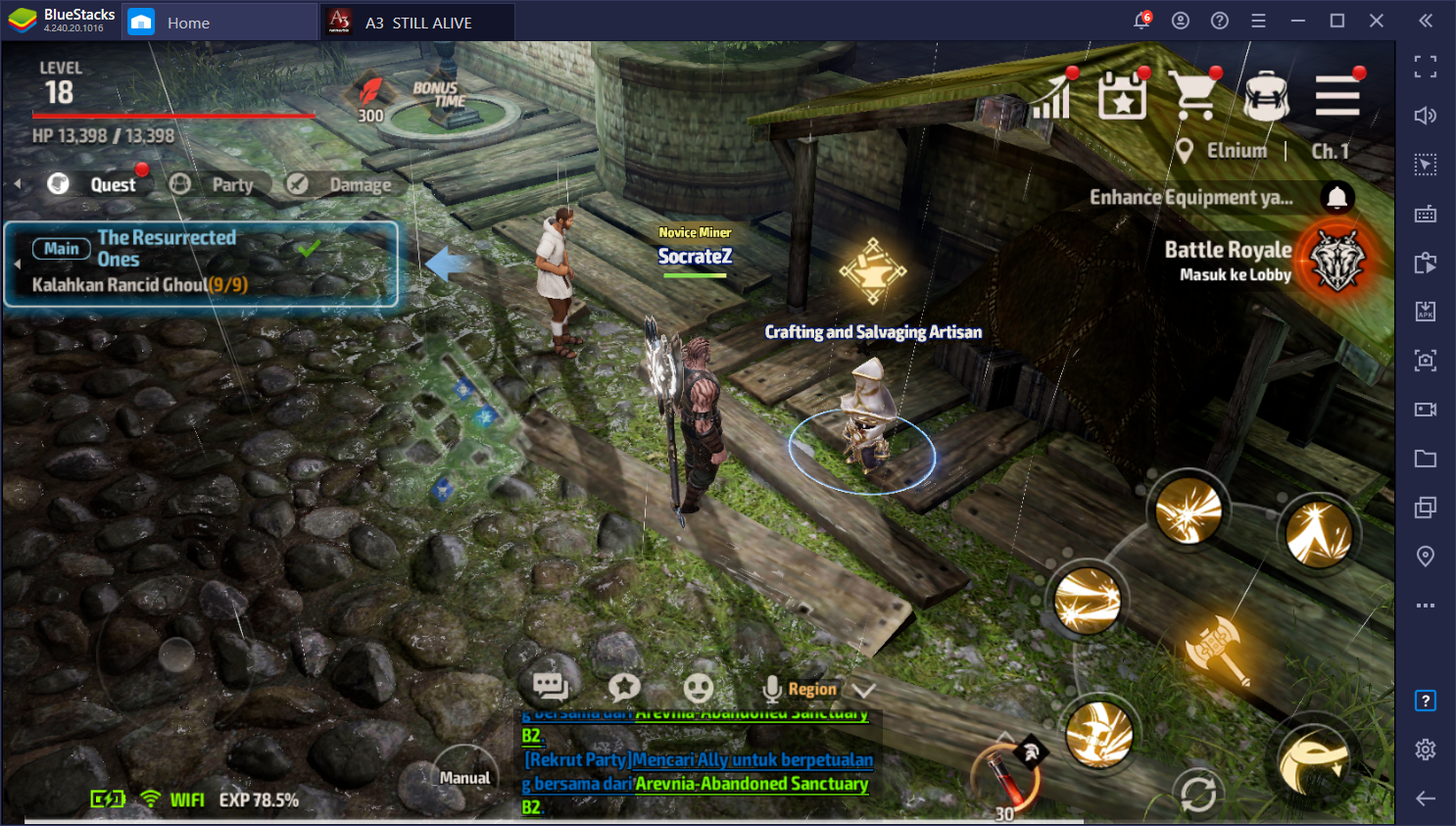 Nikmati Kombinasi MMORPG & Battle Royale di A3: Still Alive di PC dan Mac dengan BlueStacks