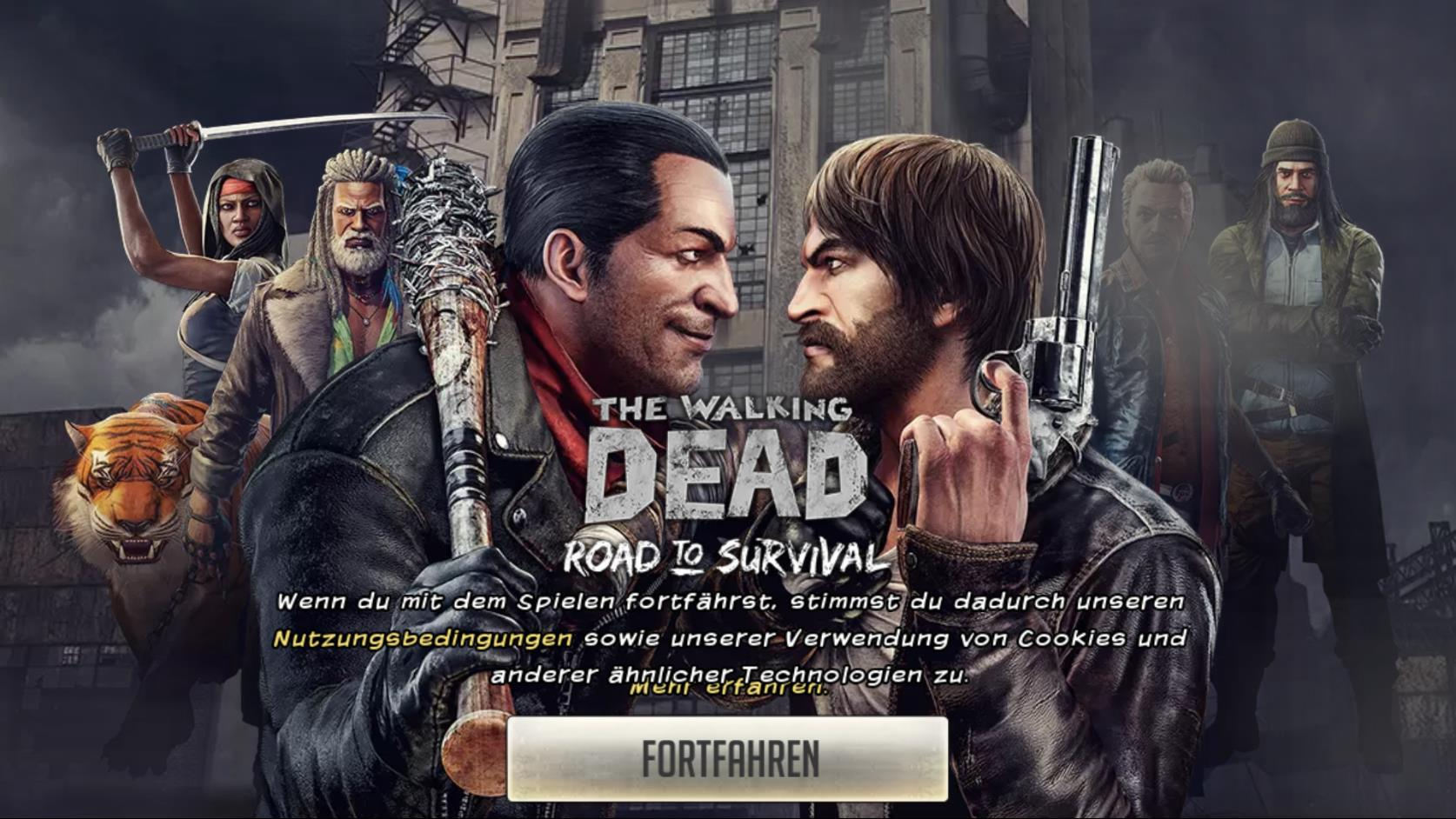 Stadtverwaltung in The Walking Dead: Road To Survival