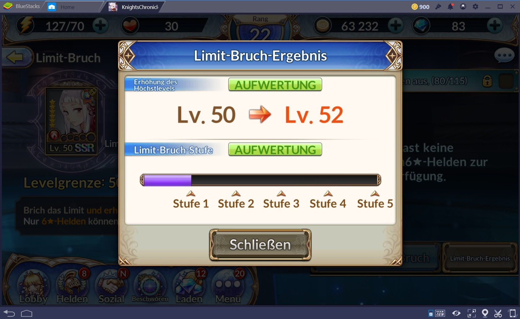 Knights Chronicle Levelguide