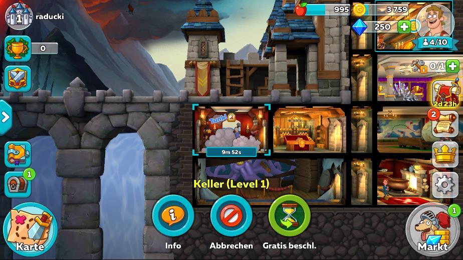 Hustle Castle: Fantasy Schloss Anleitung für Anfänger