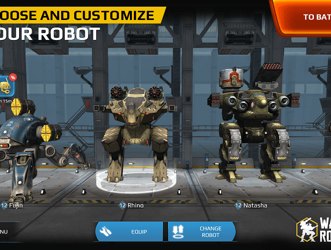 Play Walking War Robots on PC 3