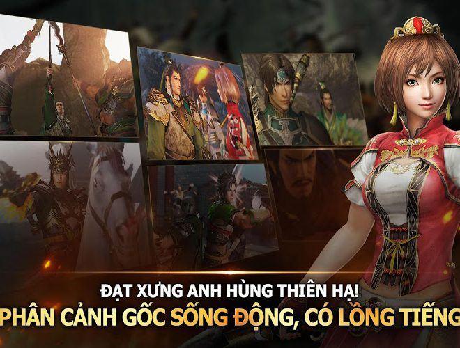 Chơi Dynasty Warriors Unleashed on PC 11