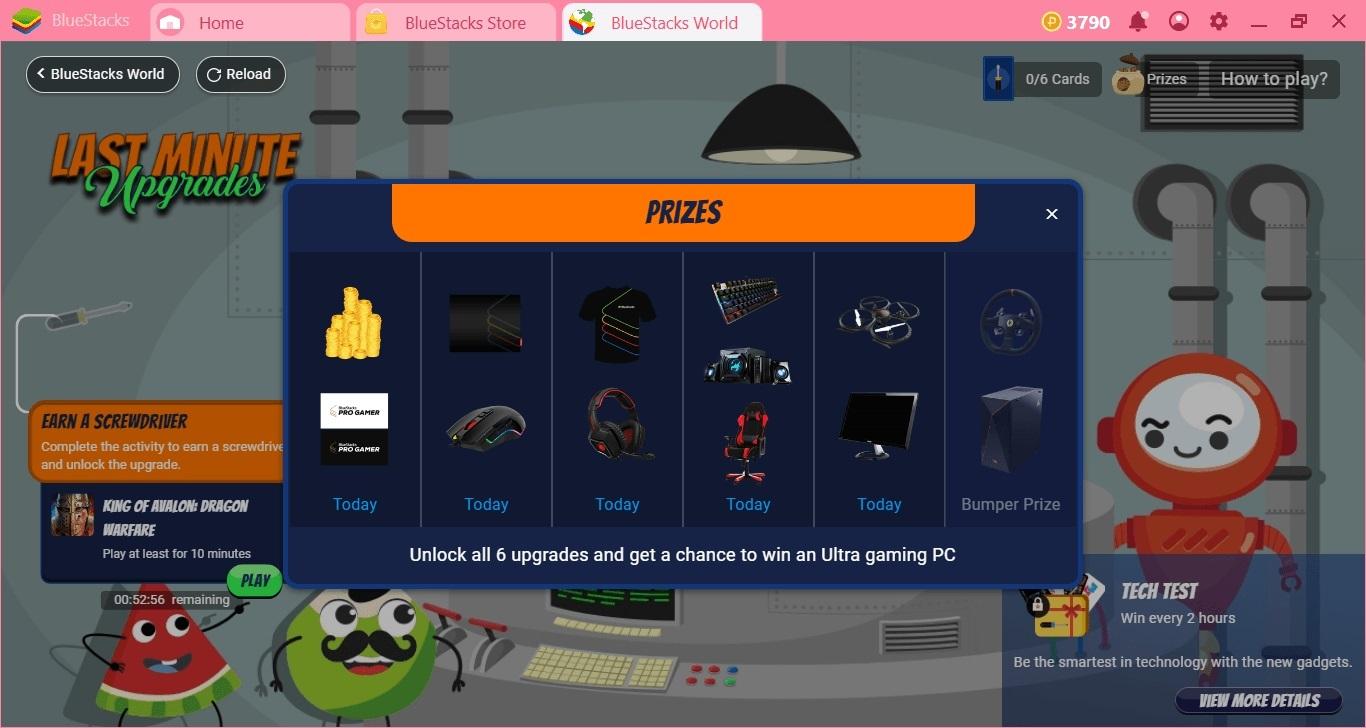 BlueStacks Punkte: Hole dir die ProGamer Gaming-Ausrüstung – umsonst!