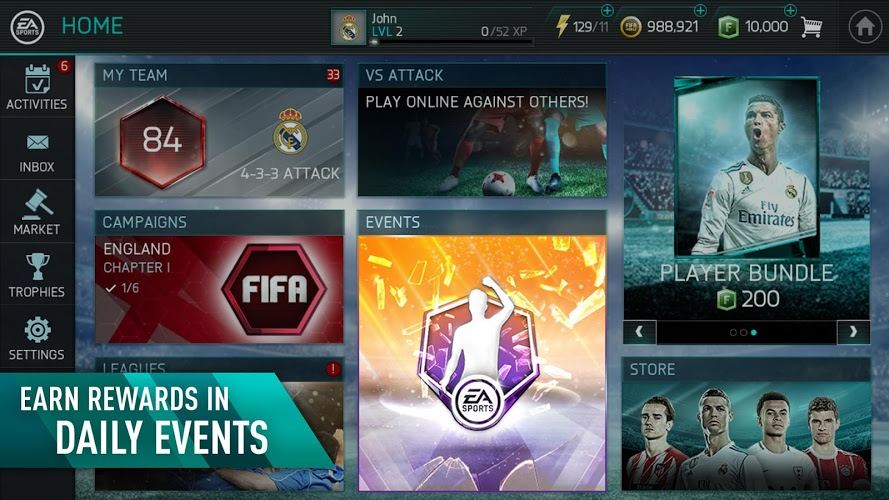 Play Fifa Mobile on PC 18