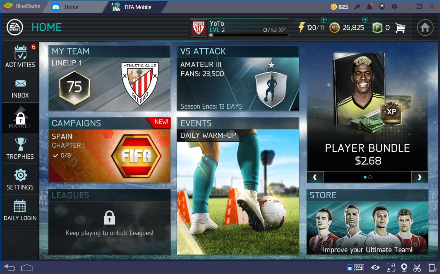 FIFA Fußball (FIFA Mobile) Anfänger Anleitung