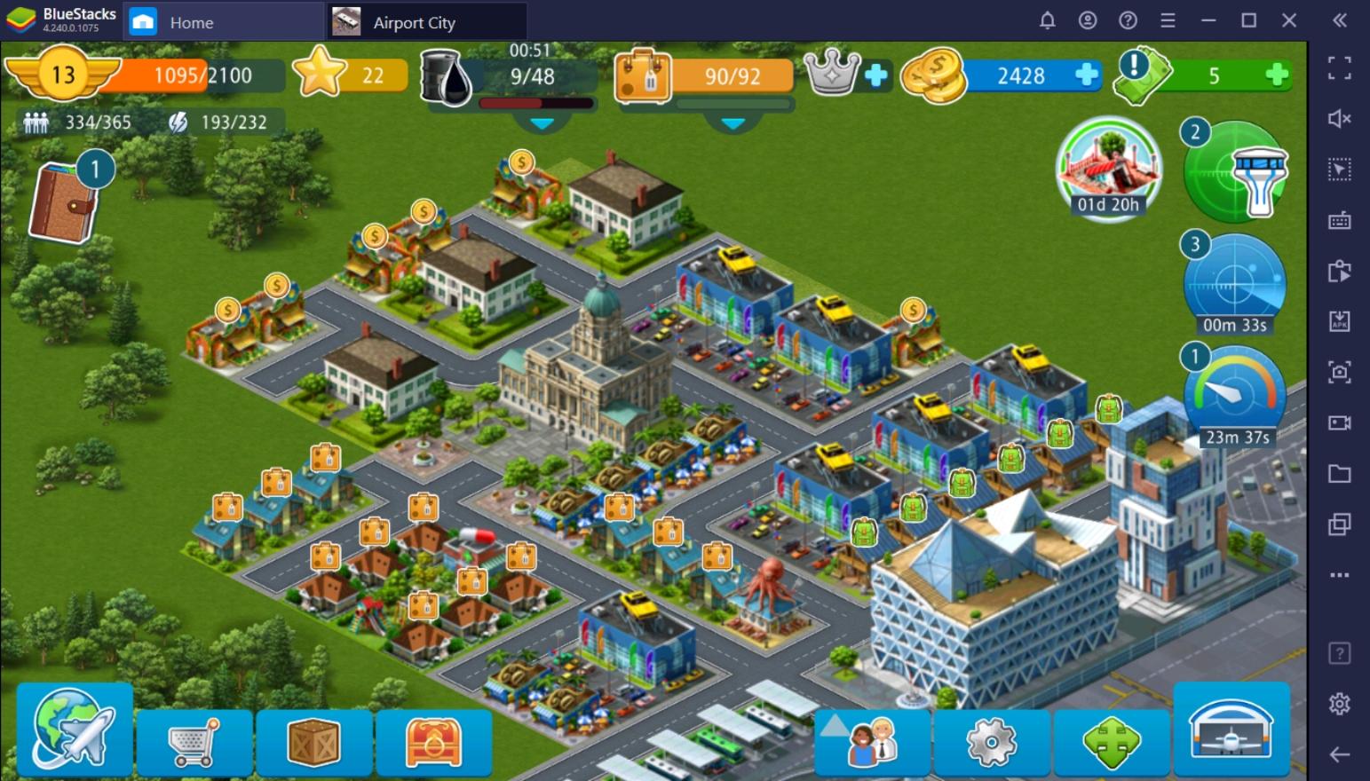 Panduan Pemula untuk Memainkan Airport City di PC