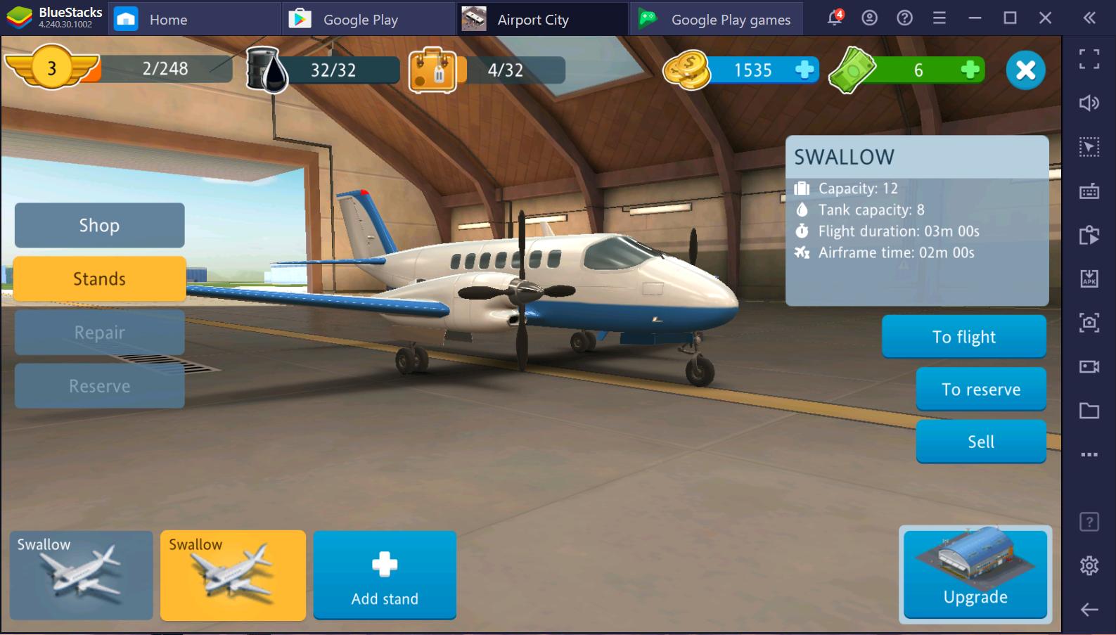 Airport City: Wujudkan Dunia Impian Kalian Sendiri dengan BlueStacks di PC