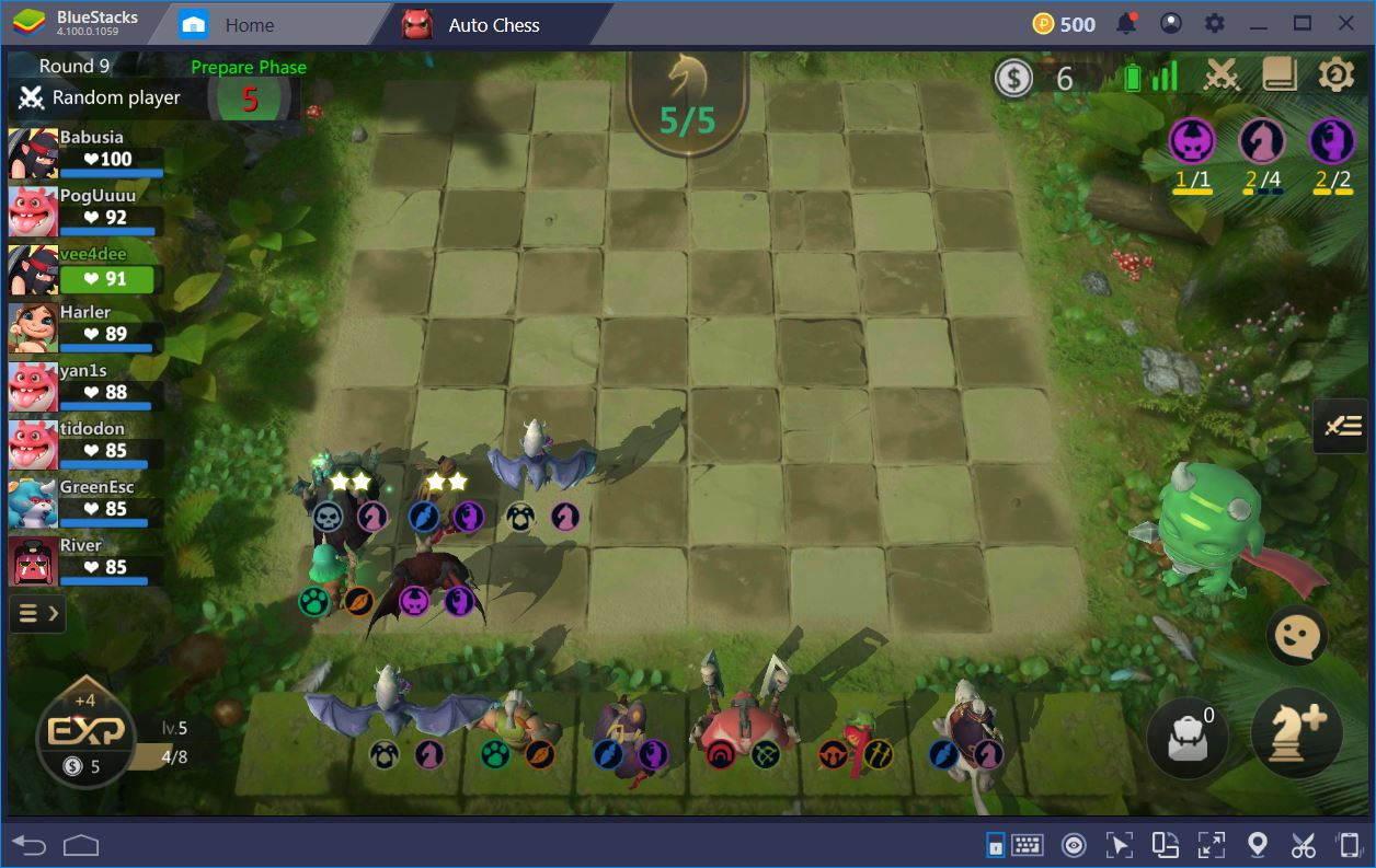 Auto Chess : Avoid Newbie Position Mistakes
