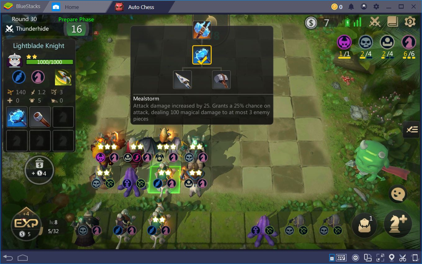 Auto Chess: The Best Strategies for a Knights Build