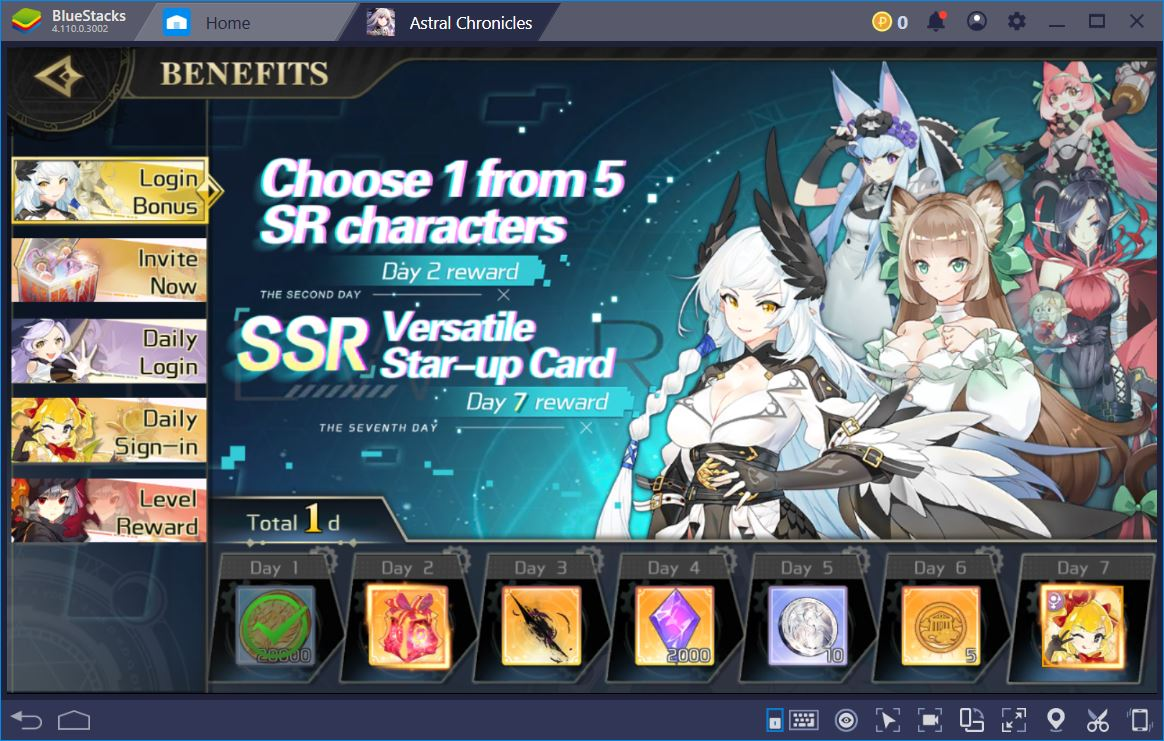 Astral Chronicles: The Nifty Beginner's Guide   BlueStacks