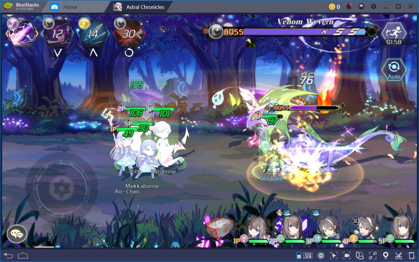 How to Play Astral Chronicles and Re-Roll on BlueStacks