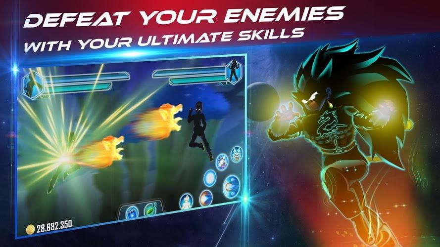 Play Dragon Shadow Battle Warriors: Super Hero Legend on PC 5