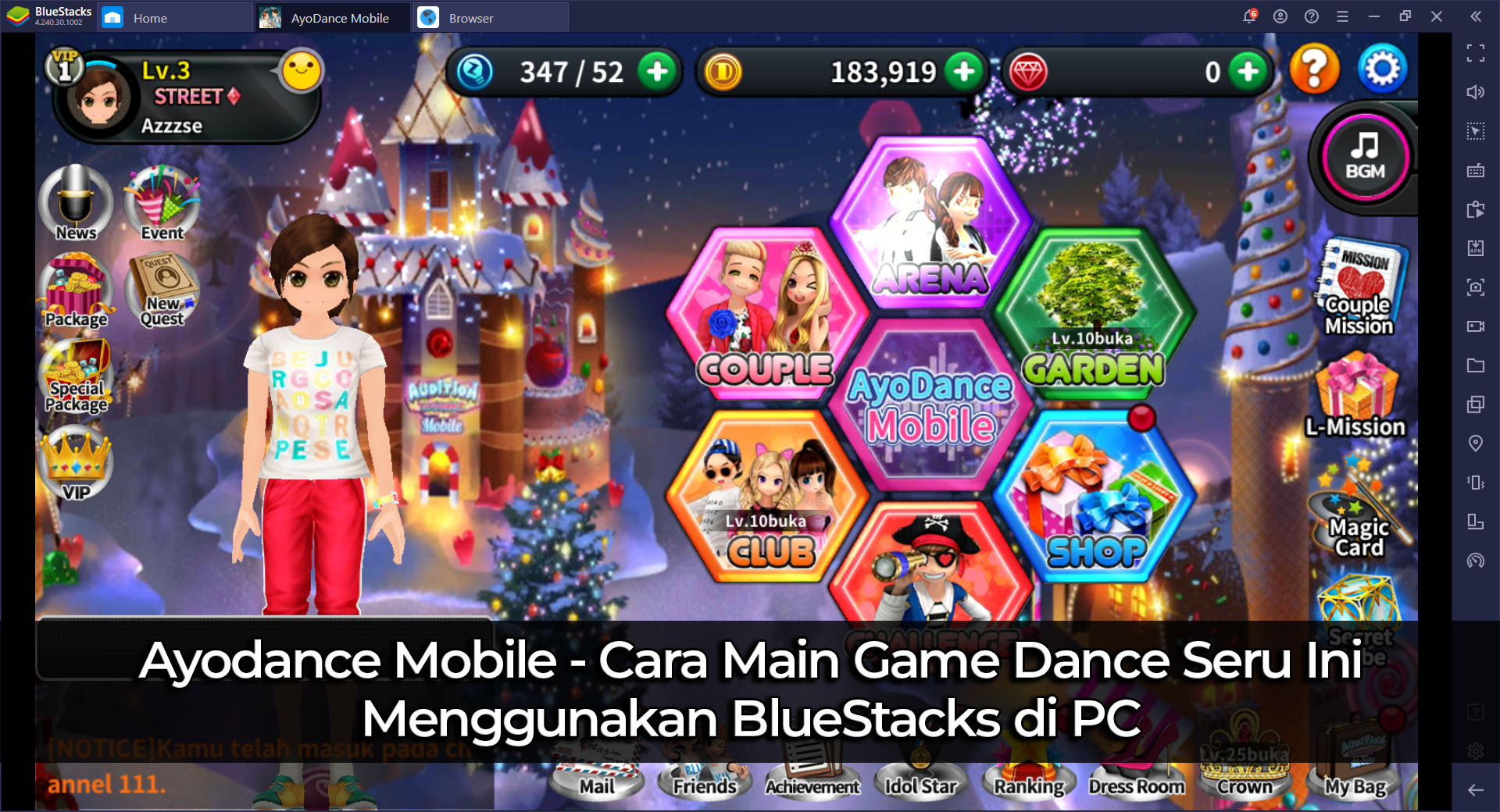 AyoDance Mobile – Cara Main Game Dance Seru Ini Menggunakan BlueStacks di PC