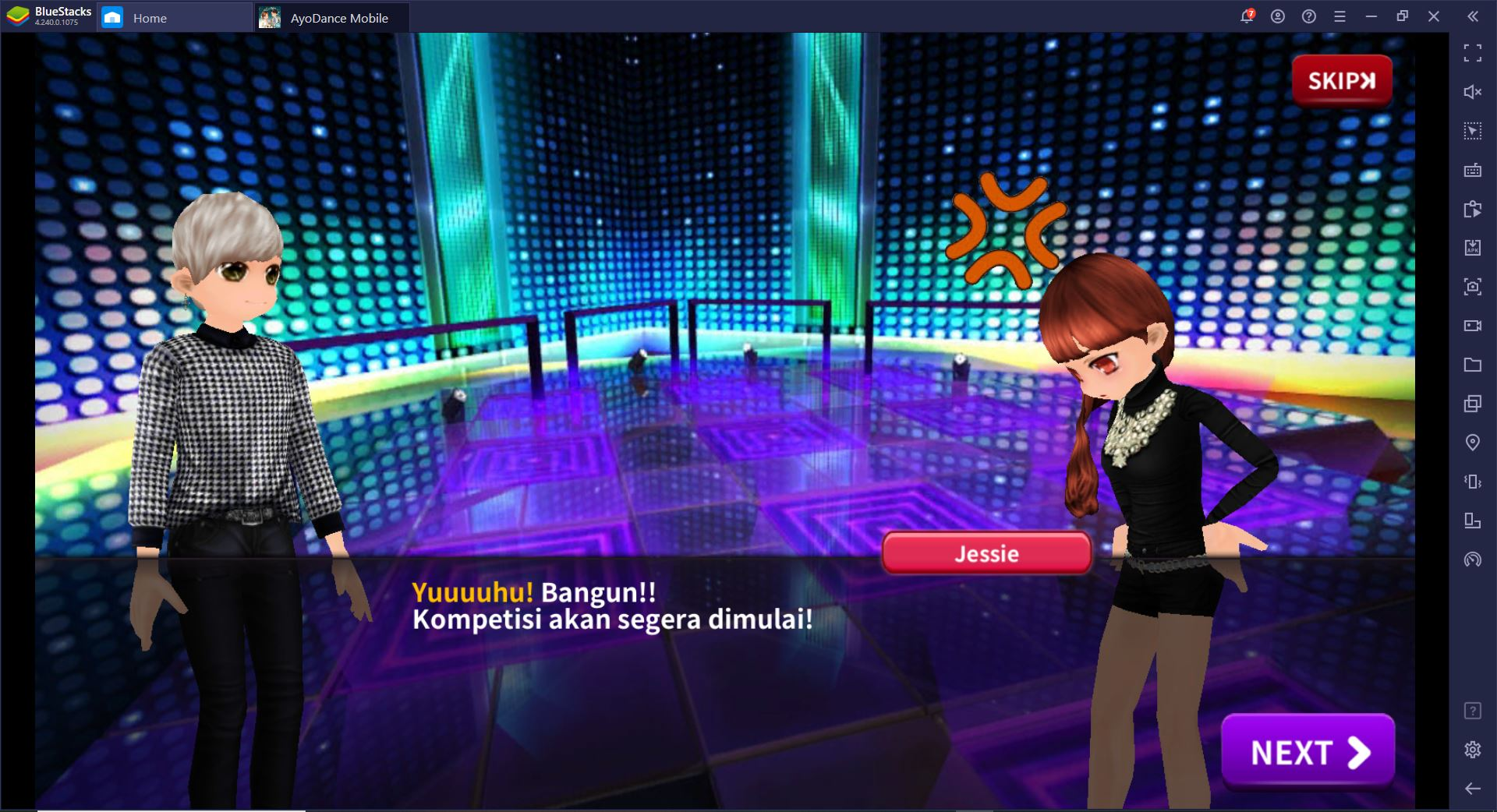 AyoDance Mobile – Tips Main AyoDance Mobile di BlueStacks, Auto PRO!
