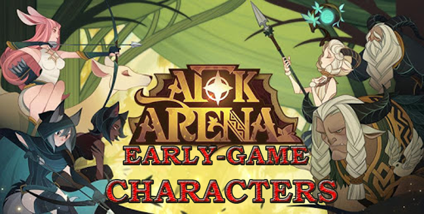 AFK Arena on PC—Top 5 Characters for the Early Phases of the Game