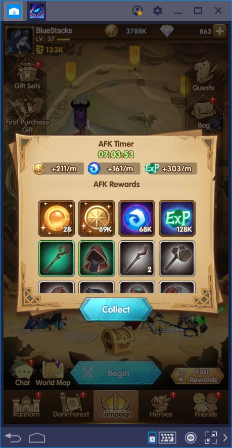 Let's Protect Esperia: Beginner's Guide for AFK Arena