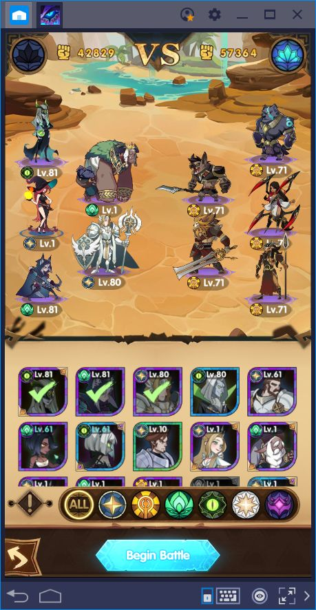 Let's Protect Esperia: Beginner's Guide for AFK Arena on PC