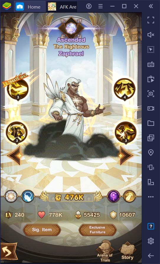 AFK Arena – Lucretia and Zephrael Heroes Arriving on September 29
