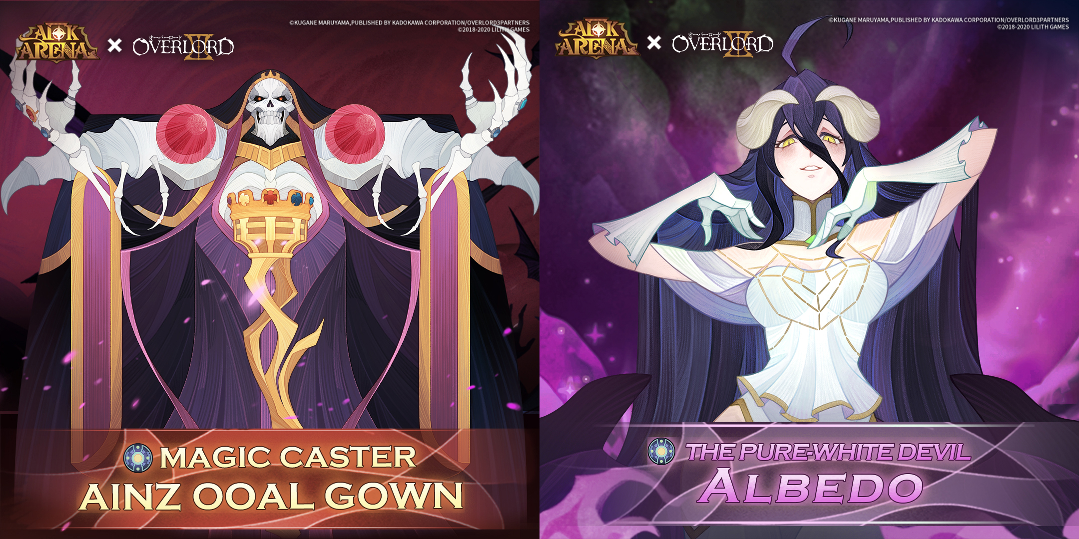 AFK Arena's Halloween Event Has a Partnership With Anime Overlord, Two New Heroes Releasing As Part of Crossover