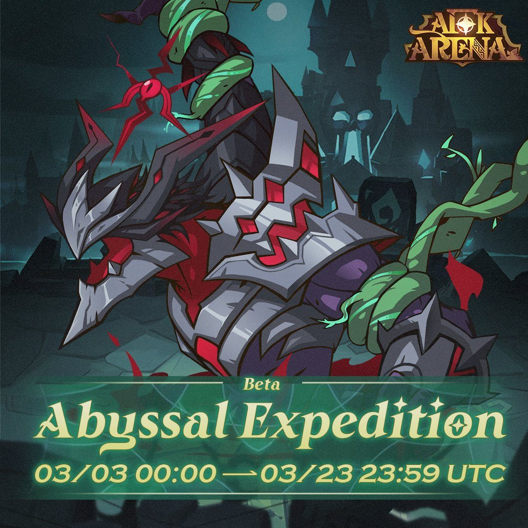 AFK Arena February Update – the Abyssal Expedition Returns!