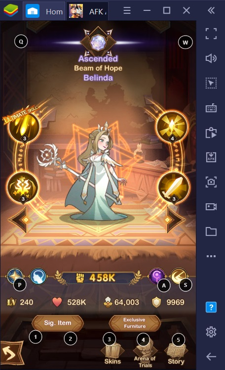 BlueStacks' AFK Arena Gacha Guide for PC and Android: Lightbearers Faction