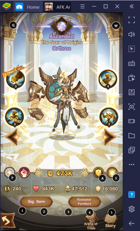 BlueStacks' AFK Arena Gacha Guide for PC and Android: Celestials Faction