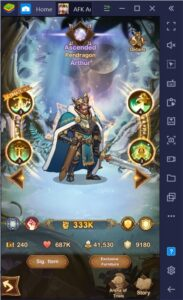 BlueStacks' PC Guide to AFK Arena's Kren, The Fanatical