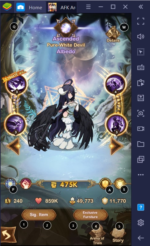 BlueStacks AFK Arena Guide for PC and Android: How to Play Dimensional Heroes