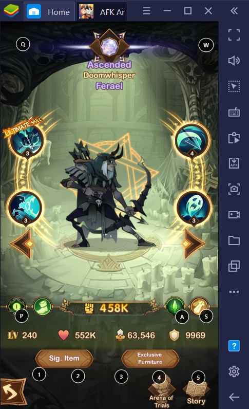 BlueStacks AFK Arena Hero Guide for PC and Android: Getting to Know the Graveborns