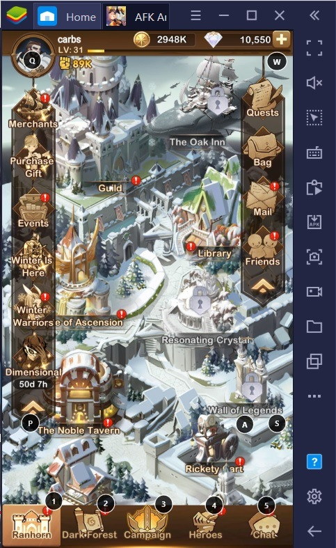 "A Guide to AFK Arena's ""Snowbound Riches"" 2021 Event"
