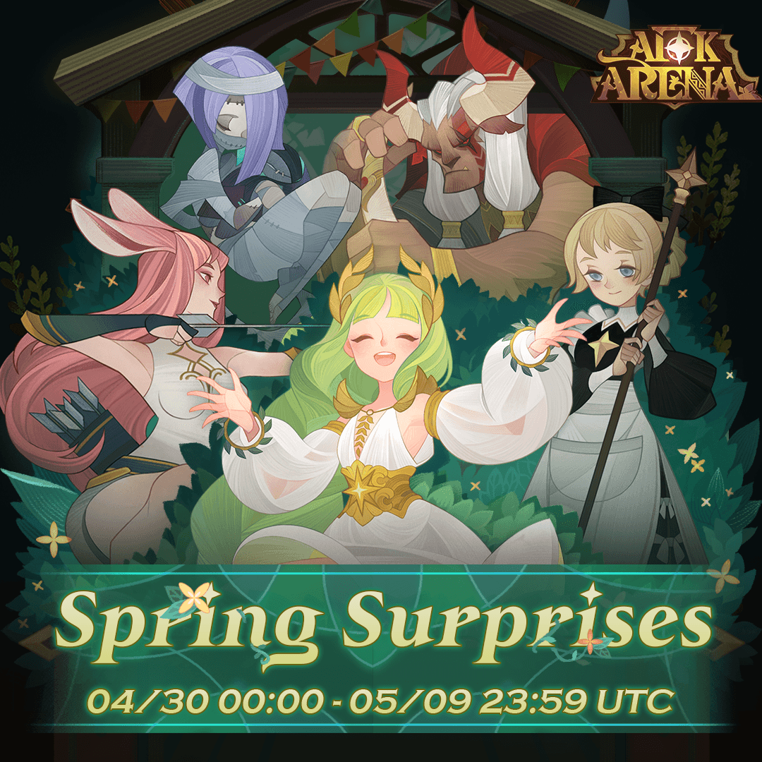 AFK Arena: The Spring Surprises Event Explained