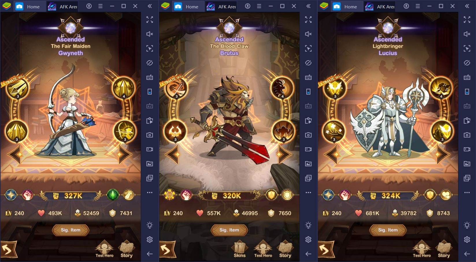 AFK Arena on PC: The Best Late-Game Heroes in 2020