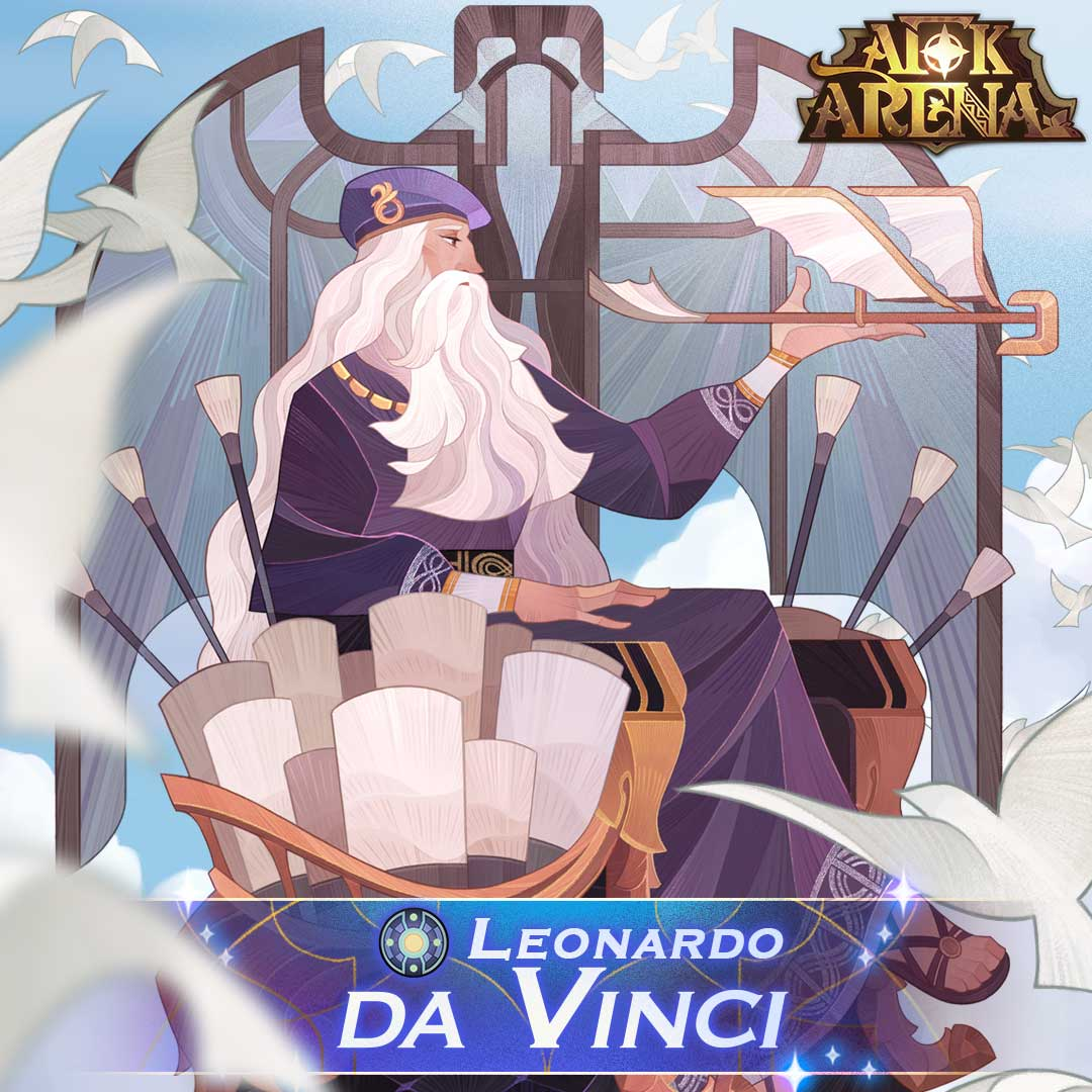 AFK Arena Update 1.73 Patch Notes – New Hero Leonardo Da Vinci, New Additions And More!