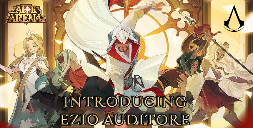 Assassin's Creed x AFK Arena Brings Ezio Auditore as a Playable Character