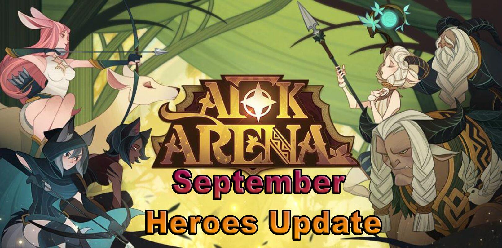 AFK Arena – Lucretia and Zephrael Heroes Arriving on September 29