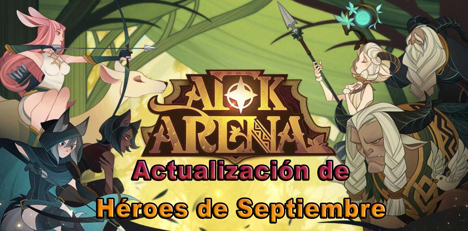 AFK Arena – Lucretia y Zaphrael Llegan Este 29 de Septiembre