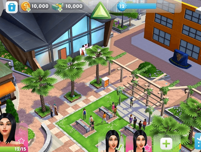 เล่น The Sims Mobile on PC 8