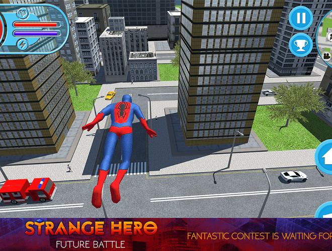 Play Strange Hero: Future Battle on PC 6