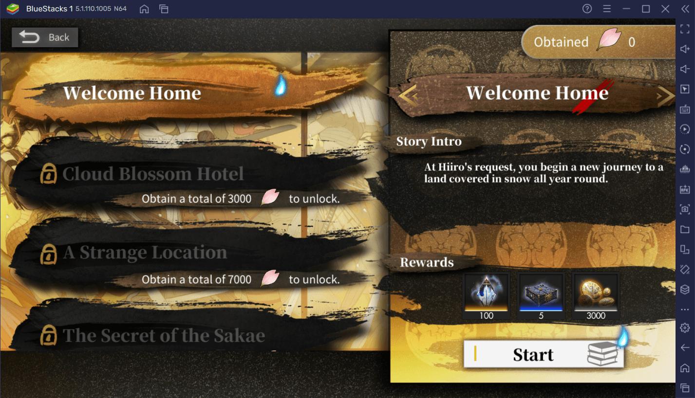 Alchemy Stars – L'Événement Destin de la Floraison des Nuages