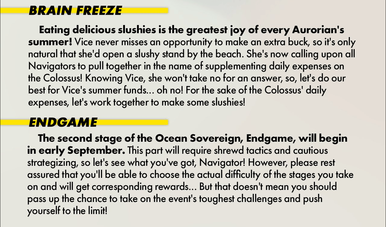 Alchemy Stars – Ocean Sovereign Event Preview