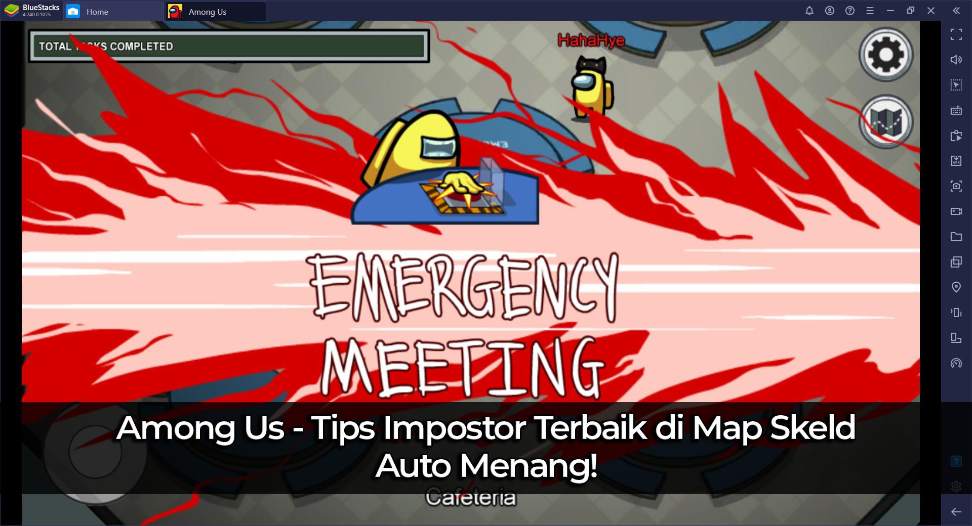 Among Us: Tips Impostor Terbaik di Map Skeld, Auto Menang!