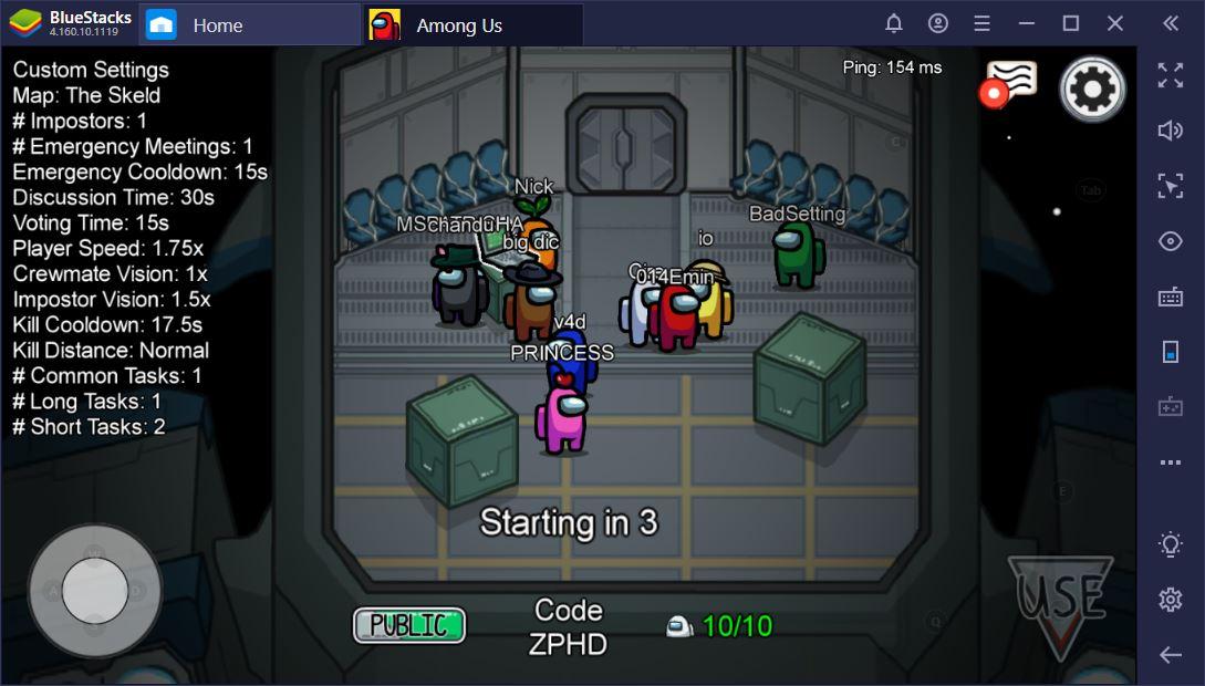 كيف تلعب Among Us على جهاز الماك والكمبيوتر الشخصي مجانًا مع BlueStacks