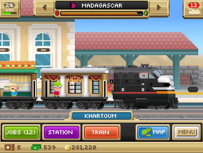 Играй Pocket Trains На ПК 12