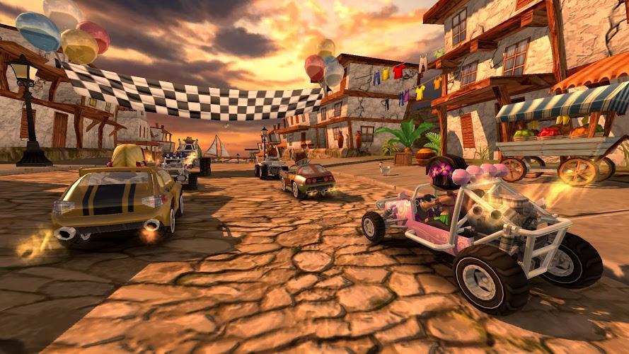 Играй Beach Buggy Racing На ПК 3