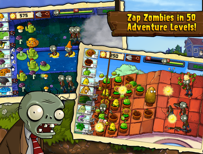 เล่น Plants vs Zombies on PC 3