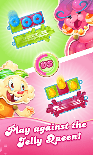 เล่น Candy Crush Jelly Saga on PC 4