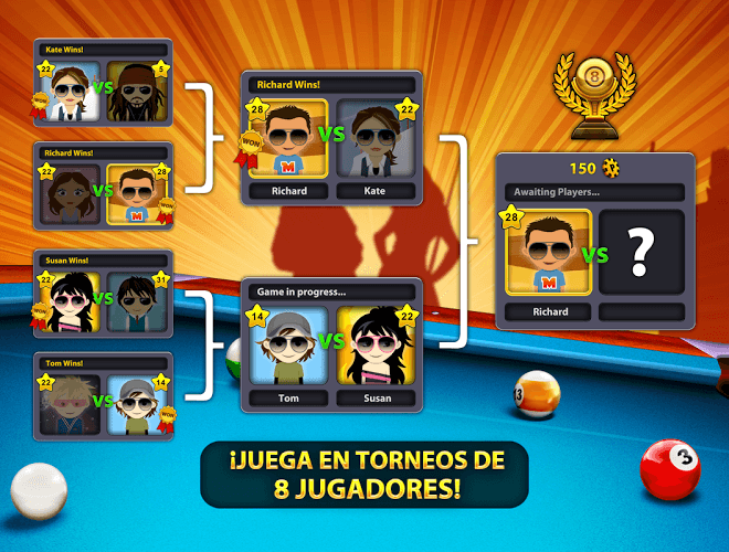 Juega 8 Ball Pool on PC 9