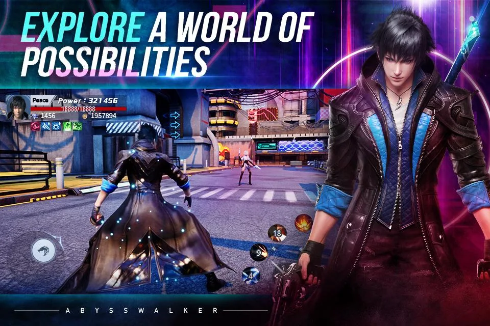 Cyberpunk MMORPG 'Abysswalker' Global Pre-Registrations Open