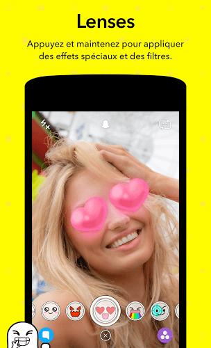 Jouez à  Snapchat app sur PC 7